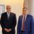 بوشكيان عرض مع سفير الهند أهمية الافادة من الخبرات في التصنيع الدوائي والتكنولوجي والبرمجيات