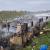 حريق في مخيم للنازحين بخربة داود اتى على 3 خيم