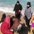 النشرة: انقاذ عائلة سورية من الغرق كانوا يسبحون في المسبح الشعبي بصيدا