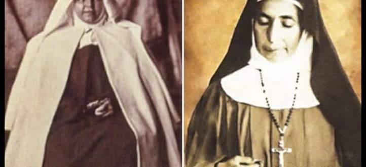 قدّيستان فلسطينيتان ترفعان رأس فلسطين على مذابح الكنيسة الكاثوليكية