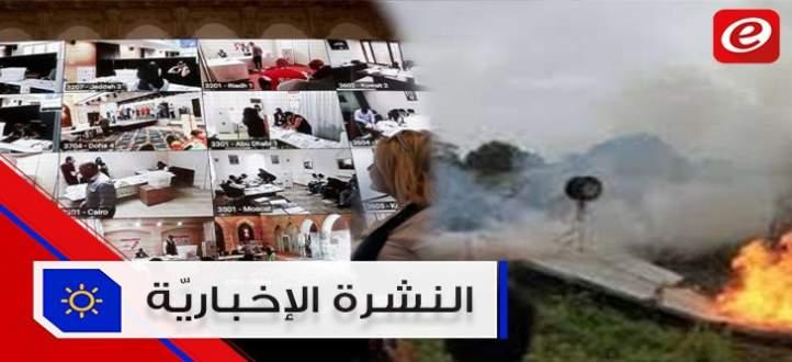 """موجز الاخبار: سجال حول انتخابات المغتربين وتحطم طائرة بكوبا وكلب يفوز بجائزة """"كان"""""""