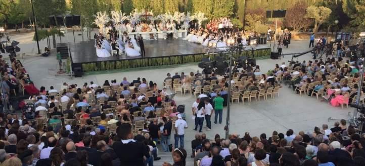 مؤسسة ميشال ضاهر نظمت العرس الجماعي للسنة السادسة على التوالي بزحلة