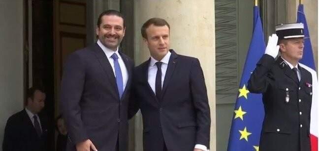 وصول الحريري الى قصر الإليزيه للقاء الرئيس الفرنسي