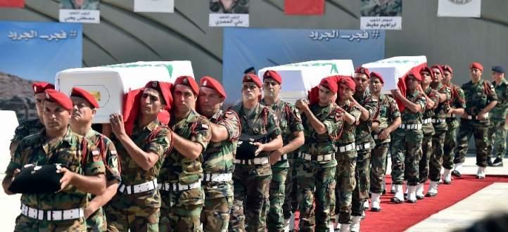 تشييع الجندي الشهيد يحيى خضر في بلدته عزقي