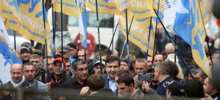 مواجهات بين متظاهرين وقوات الأمن في كييف