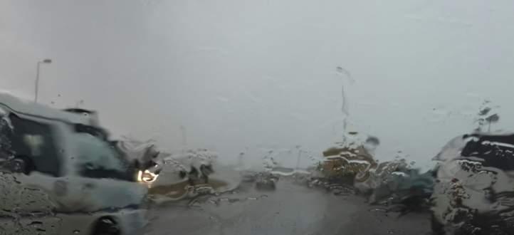 امطار متفرقة في عز فصل الصيف!