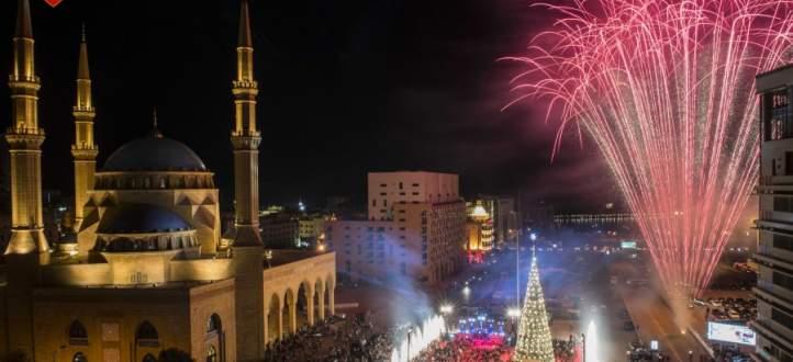 مجدلاني خلال اضاءة شجرة الميلاد في ساحة الشهداء: ليس هناك استقرار من د