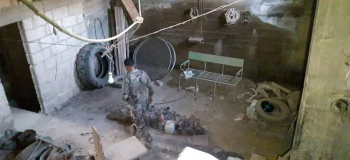 النشرة: العثور على انفاق واسلحة ومراكز تحت الارض في بلدة بيت سحم