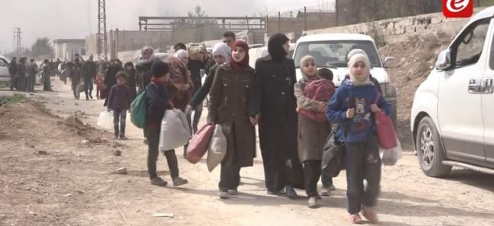 النشرة: الجيش السوري واصل تقدمه في وادي عين ترما في الغوطة الشرقية