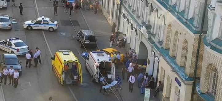 السلطات الروسية: إعتقال سائق سيارة الأجرة التي دهست حشدا في موسكو