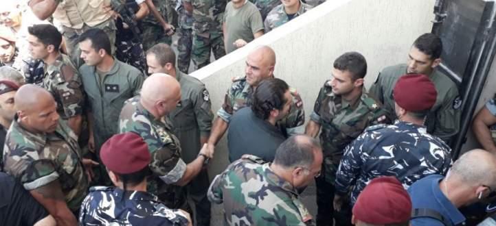 الحريري زار غرفة عمليات جبهة جرود رأس بعلبك والقاع
