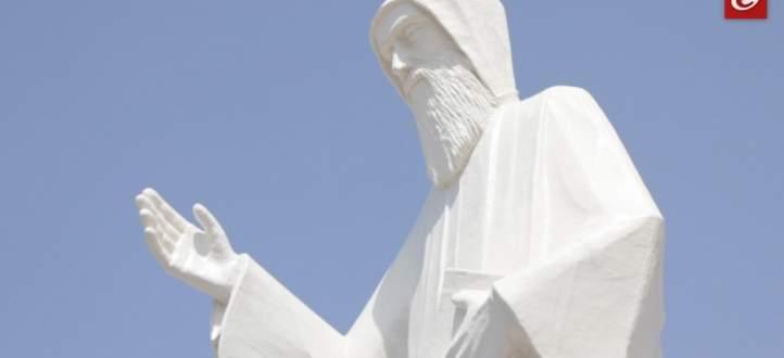 فاريا تحتضن أطول تمثال للقديس شربل بالعالم... وهذه هي قصته!