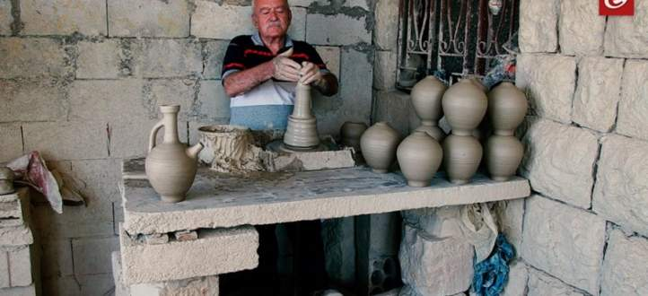 صناعة الفخار حرفة قديمة تزيّن تاريخ بعض القرى اللبنانية