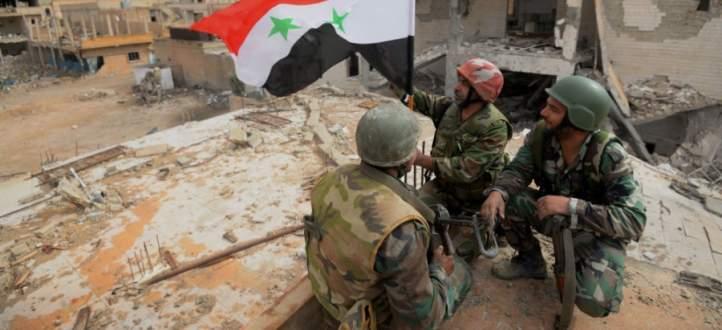 النشرة: الجيش السوري صعّد عملياته في حي جوبر من عدة محاور