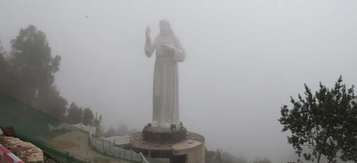 الرحمة الإلهية تحط رحالها على جبل الرحمة بغوسطا: اشعاع من النور يطال لبنان بأكمله