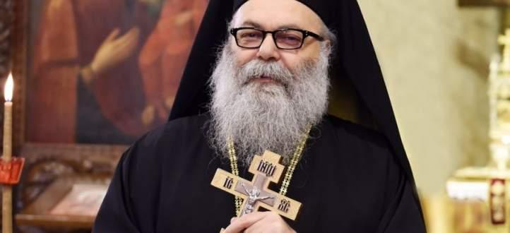 اليازجي زار زحلة وترأس الصلاة في كنيسة القديس نيقولاوس