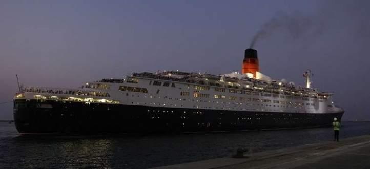 سفينة الملكة إليزابيث الثانية تتحول لفندق عائم فى دبي