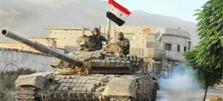 الجيش السوري بدأ عملية عسكرية لاستعادة النقاط التي سيطرت عليها النصرة بحرستا