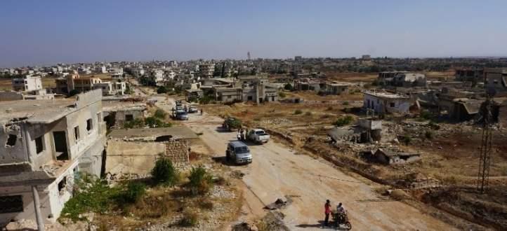 النشرة: خروج المسلحين الرافضين للتسوية من ريف القنيطرة الى ادلب