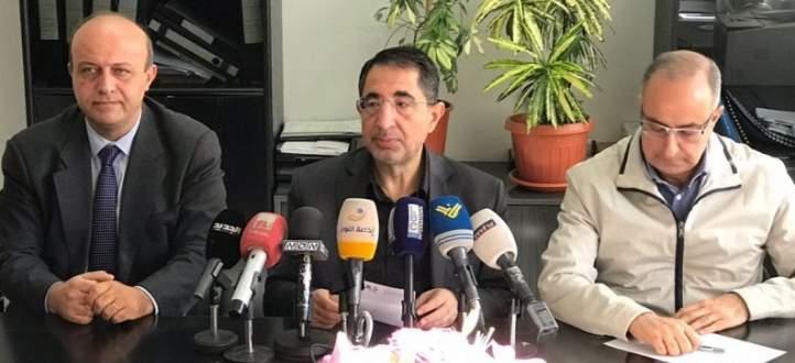 حسن:إقفال 27 مصنعا منذ بداية 2018 بسبب تأثيرهم السلبي على نهر الليطاني
