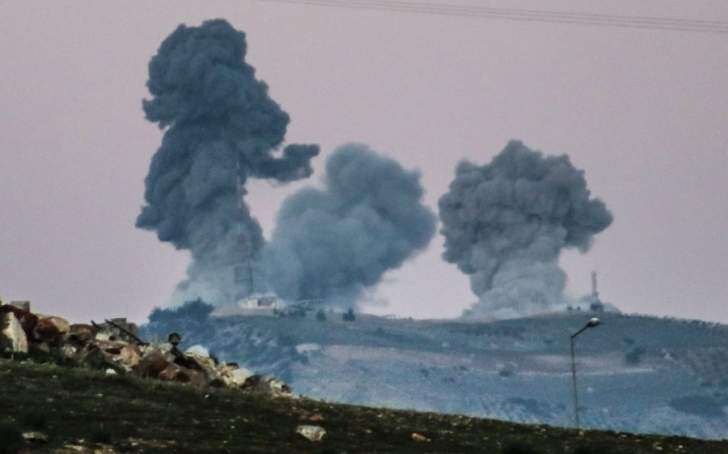 الجيش الحر يسيطر على عدد من المناطق في عفرين