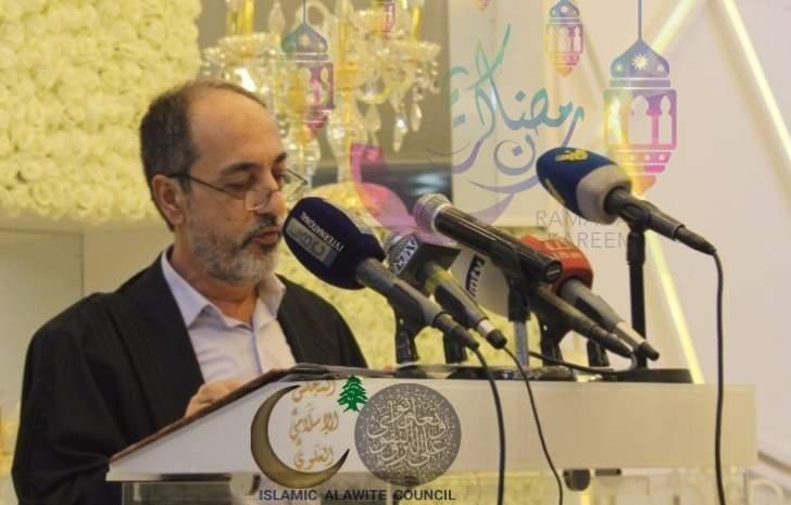 عصفور برسالة رمضان: نأمل إنصاف أبناء الطائفة العلوية بتمثيلهم بمقعد وزاري