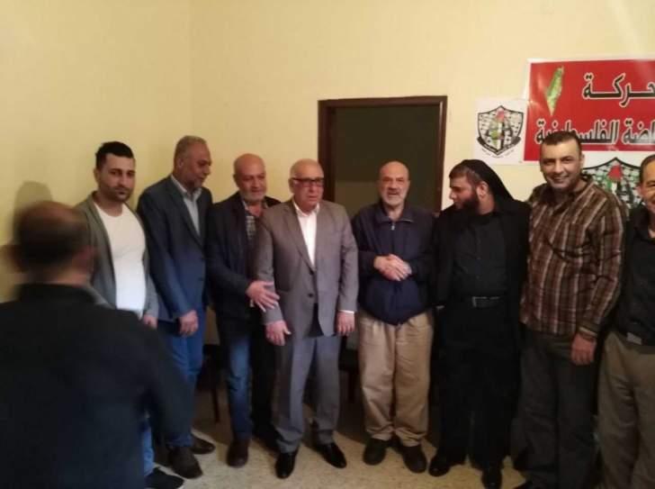 حركة الانتفاضة الفلسطينية افتتحت مقرا لها في مخيم عين الحلوة