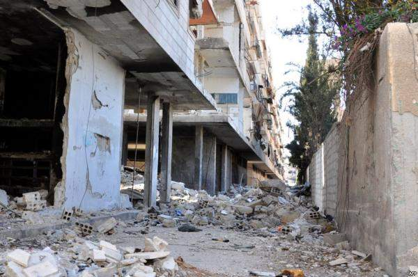 غوطة دمشق الشرقية تحترق على وقع الانتخابات الرئاسيّة في سوريا