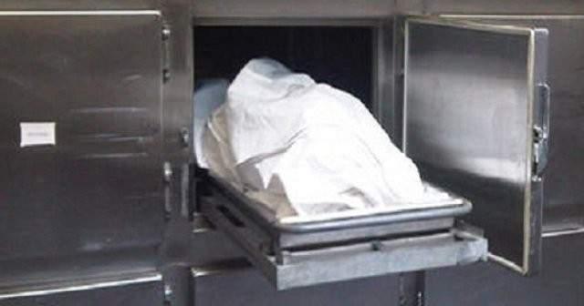 إكتشاف جثة موضوعة في
