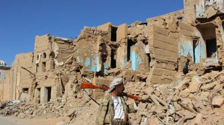 مقتل 42 عنصراً من حركة أنصار الله اثر مواجهات مع قوات اليمن