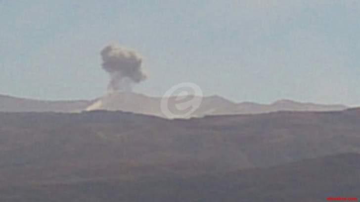 النشرة: غارات مكثفة للطيران السوري على تجمعات الإرهابيين في جرود عرسال