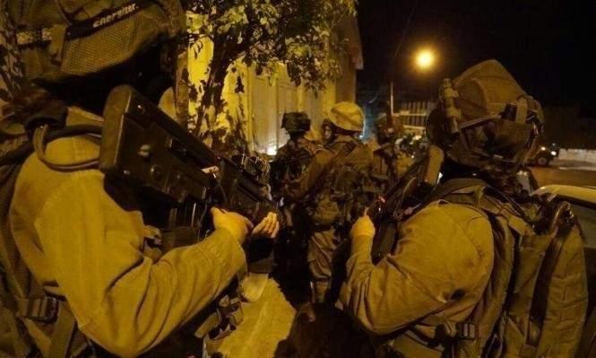 انتشار مكثف للجيش الإسرائيلي في هضبة الجولان السوري
