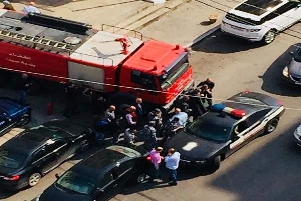 النشرة: مواطن في صيدا هدد باحراق نفسه امام المحكمة الشرعية