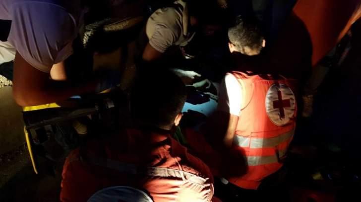 النشرة: إصابة شخصين بحادث سير في منطقة سينيق عند مدخل صيدا