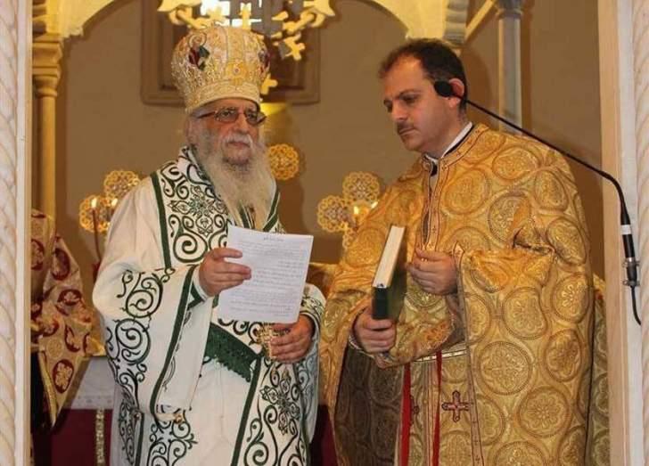 كرياكوس ترأس قداسا احتفاليا بعيد القديسين سرجيوس وباخوس