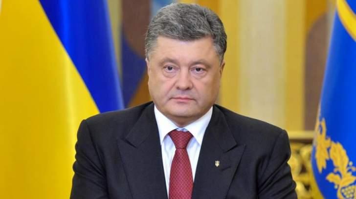 الرئيس الاوكراني دعا الى محاسبة روسيا في قضية تحطم الطائرة الماليزية