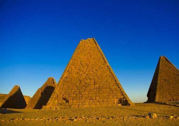 السودان تمتلك أهرامات أكثر من مصر