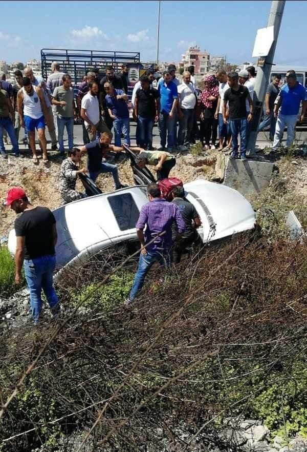 وفاة العميد المتقاعد جميل عقيل من بلدة زفتا في حادث سير على طريق السكسكية