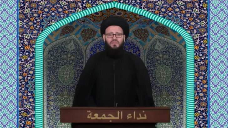 الحسيني ندد بإعتداء فرنسا: نحن رأس حربة في معركة استئصال الإرهاب