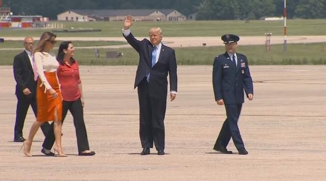 الرئيس الأميركي يغادر الولايات المتحدة متوجها إلى السعودية