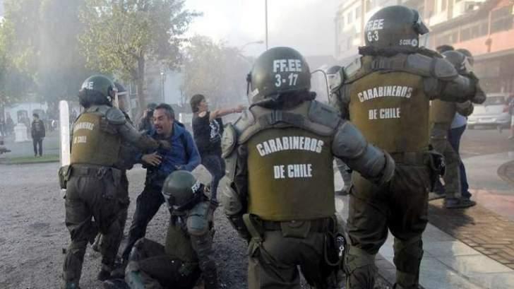اشتباكات في تشيلي بعد وصول البابا فرنسيس إلى البلاد
