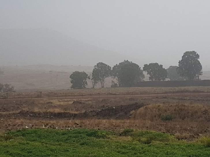 النشرة: الجيش الاسرائيلي استأنف عملية حفر الخنادق بالجزء المحتل من العباسية