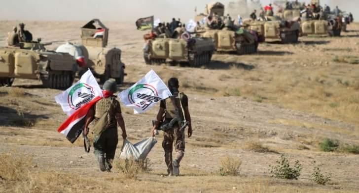 القوات العراقية تبدأ بتحصين الشريط الحدوي مع سوريا غربي البلاي