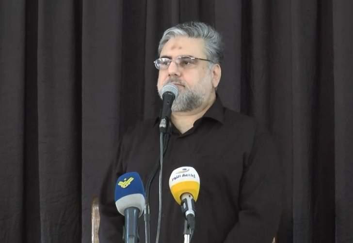 الموسوي: على الخصوم السياسيين في الداخل نسج علاقات صحيحة مع المقاومة في لبنان