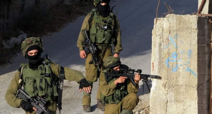 اصابة 7 جنود اسرائيليين بانفجار اللغم بالمركبة العسكرية قرب أريحا