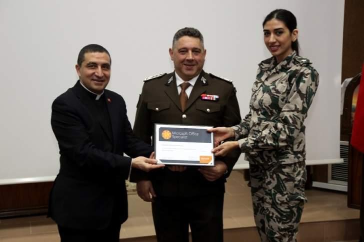 حفل تخريج ضباط وعسكريين من المديرية العامة للأمن العام