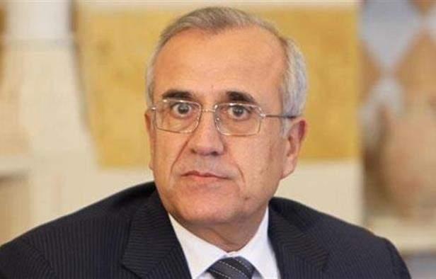 سليمان: نؤيد قرار إلغاء الإحتفال بانتصار الجيش منعا لاستغلال الأمر