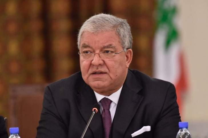 نهاد المشنوق: لا أحد فوق القانون لا المرشحين ولا مرافقيهم