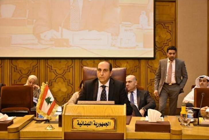 عزام:لا خلاص لنا الا بالتفهّم بين بلداننا العربية وبتعزيز الأمن القومي
