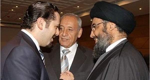 """هذه مطالب """"المستقبل"""" للتراجع عن الاستقالة: بري يتولى التنسيق مع نصرالله"""